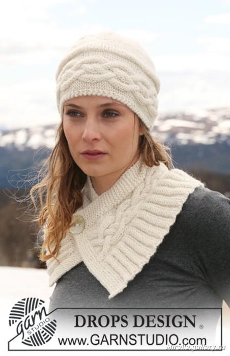 детские вязаные шапки 2011 схемы зимние.