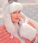 Описание: Вязание шапок спицами.  Автор: Альбина.