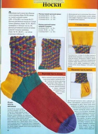 Webdeti.net :: Просмотр темы - Как связать носки.