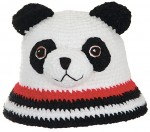 Комментарий: шапка панда схема вязания спицами.