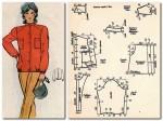 куртка из плащевой или флисовой ткани  164 -88-96