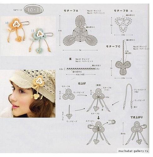 美丽钩花-3-(燕窝编织) - 燕窝 - 燕窝编织