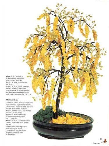 Все подделки: Ракитник - деревце из бисера / Бисероплетение, поделки и украшения.
