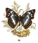 Теги. популярные схемы. бабочка. бабочки.  Гамма, 60 цветов.  Горячие схемы вышивки.