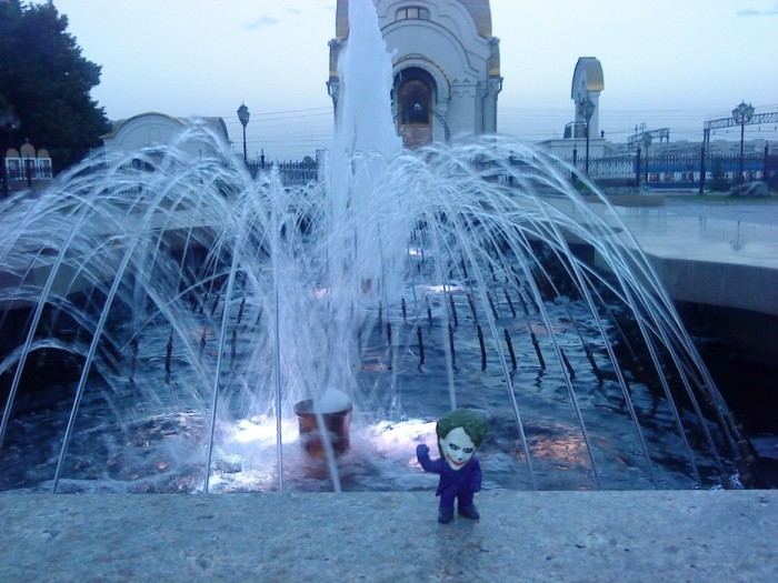Joker-6 в фонтане