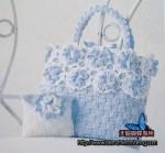 вязание крючком сумочки для девочки.