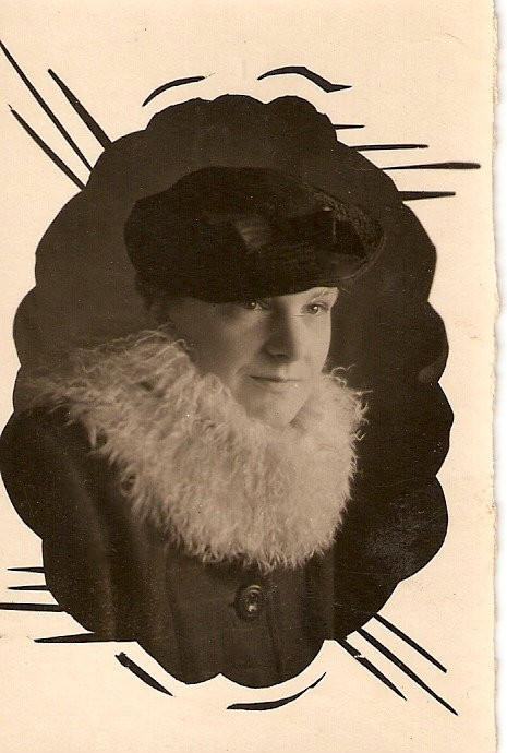 Моя мама Надежда Кузьминична Васильева ок. 1935
