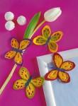a Бабочки летают, бабочки.  Собираюсь связать в подарок что-нибудь на бабочковую тему.  Собираю идеи схемка: Еще вот...
