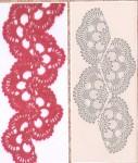 Схемы вязания ленточного кружева крючком.