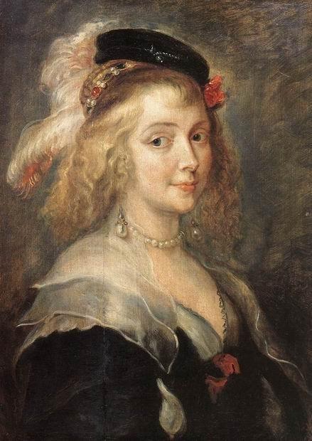 Портрет Елены Фоурмен, второй жены художника, 1630. Холст, масло, 262х206.  Королевский Музей Изобразительных Искусств, Брюссель