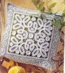 Описание: Вязание крючком схемы ленточного кружева.