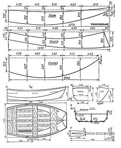 Чертежи лодок из фанеры сшей и склей фото 662