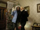 [+] Увеличить - новогодний привет :)Я и Люда-жена братика:)
