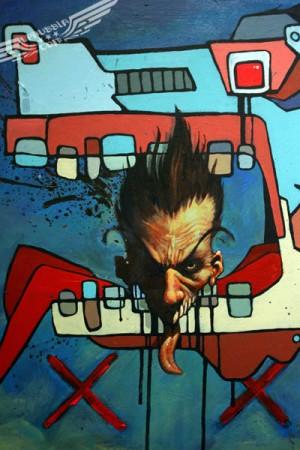 Наткнулась в интернете на работы Майка Шиноды, гитариста из Linkin Park.