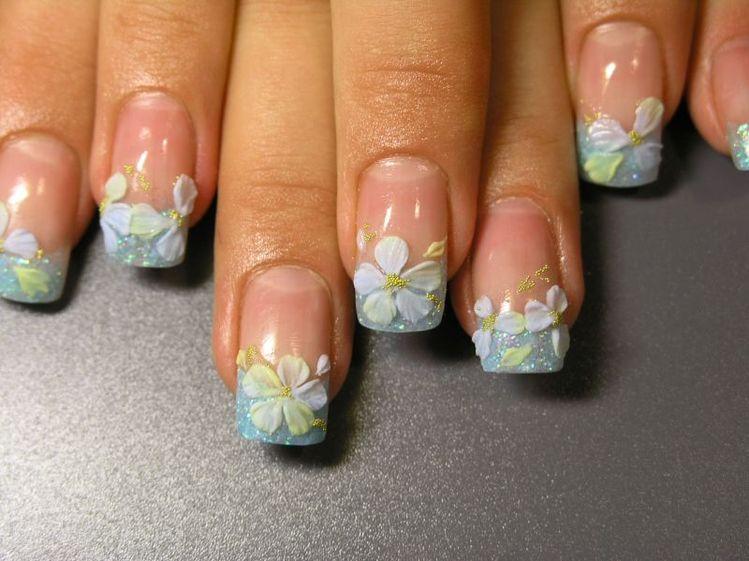 Дизайны ногтей пошагово видео
