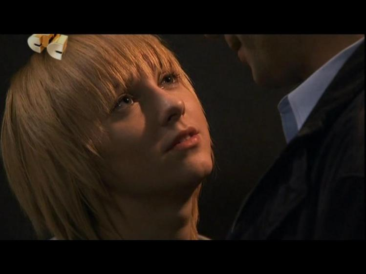 Долгожданный поцелуй пары КВМ. Кусочек из сериала Ранетки. 3 сезон