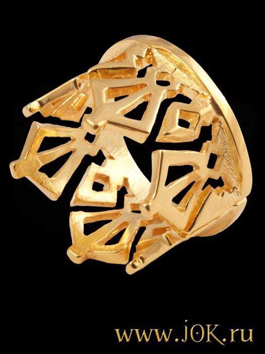 женские кольца из золота корона