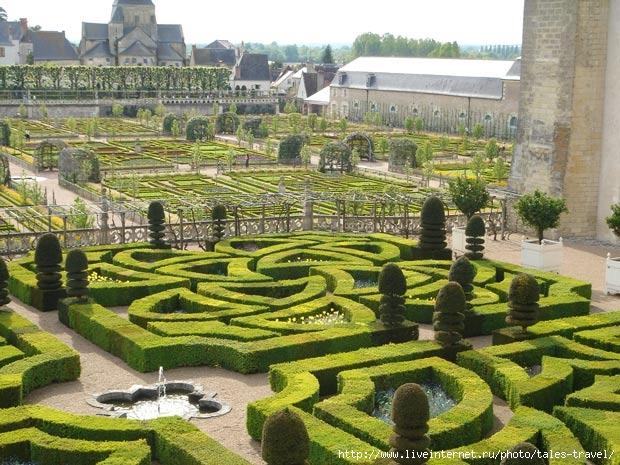 садово-парковое искусство Франции
