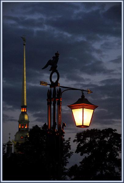 газовый фонарь петербург