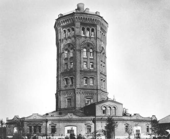 водонапорная башня петербург