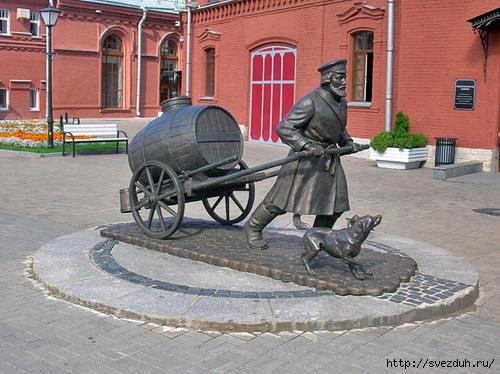 памятник водовозу петербург
