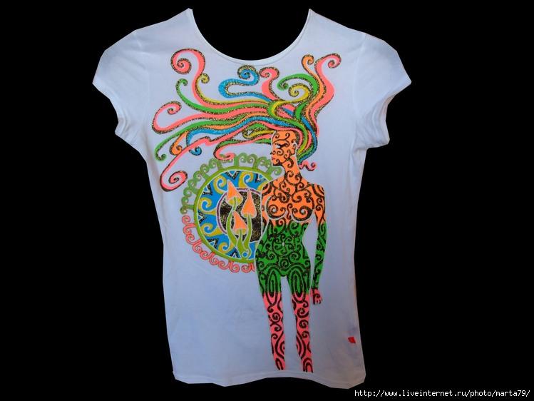 рисунки на футболках: