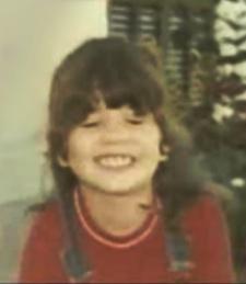 Наталья Орейро в детстве.