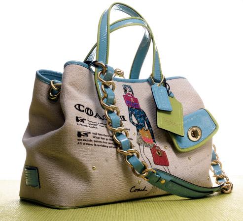 1. Некоторые подсказки при покупке сумок Coach через Интернет.