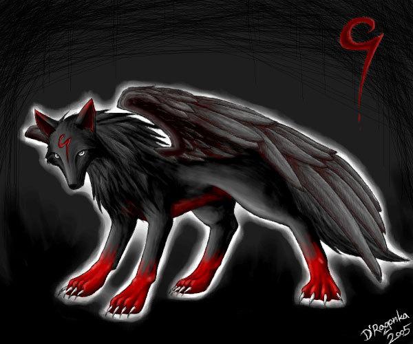 люблю вышивать волков