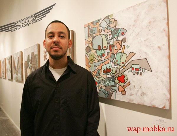 Настоящие собcтвенные графические работы Майка Шиноды из Linkin Park...
