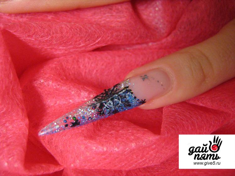 дизайн ногтей стилеты фото: