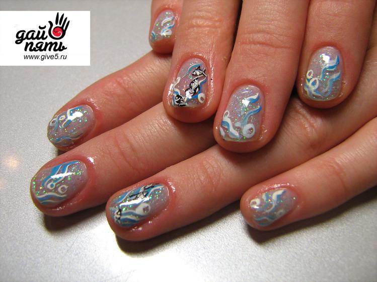 Ногти рисунки liveinternet российский