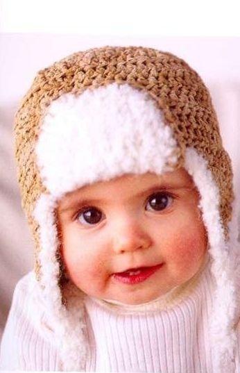 вязание шапочки с ушками для