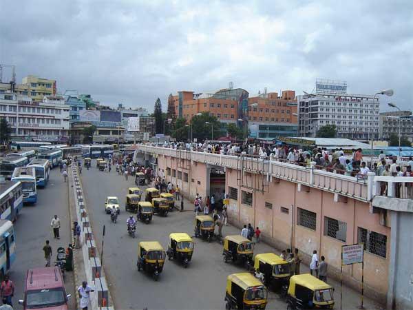 Автовокзал в Бангалоре