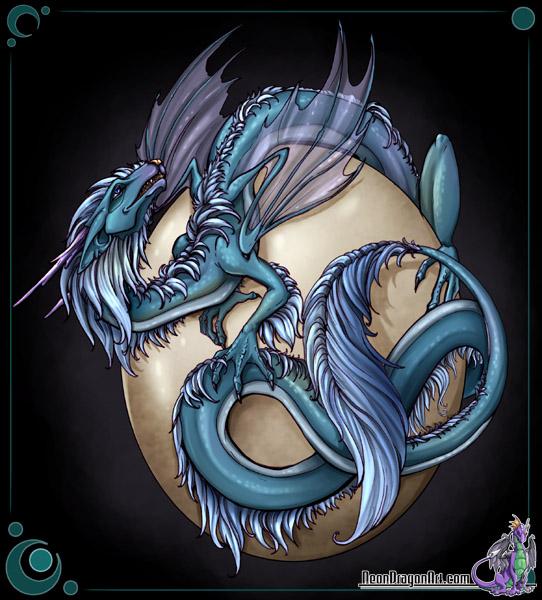 Рисунок дракон из фэнтези мира дракон