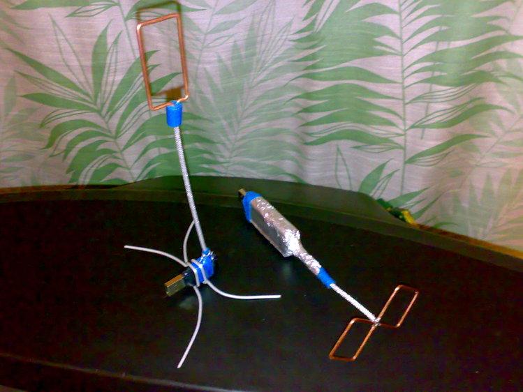 Рамочная антенна для wifi