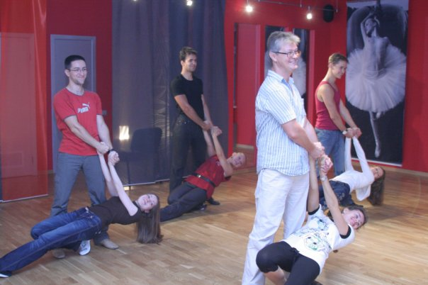 Поддержки и акробатика в танце.