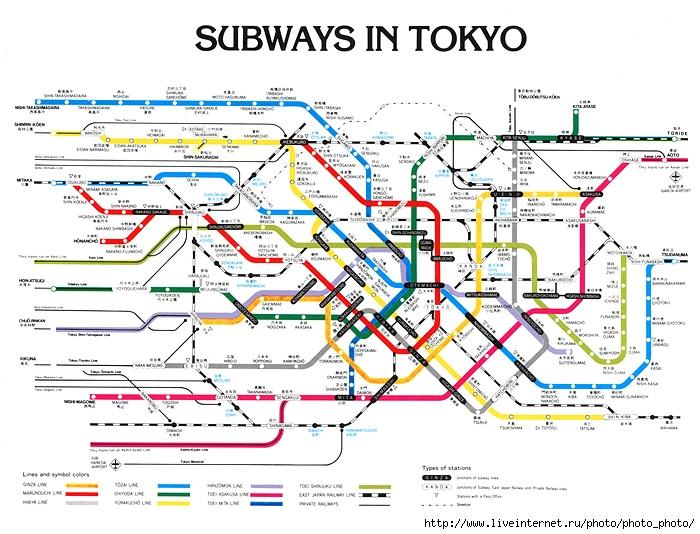 парочку схем метро других