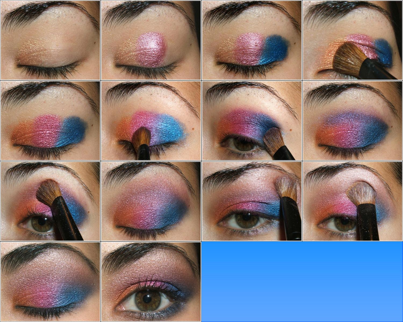 Легкий макияж на дискотеку