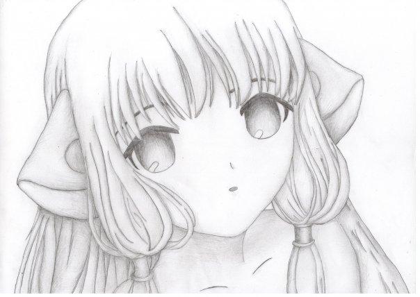 Картинки аниме нарисованные