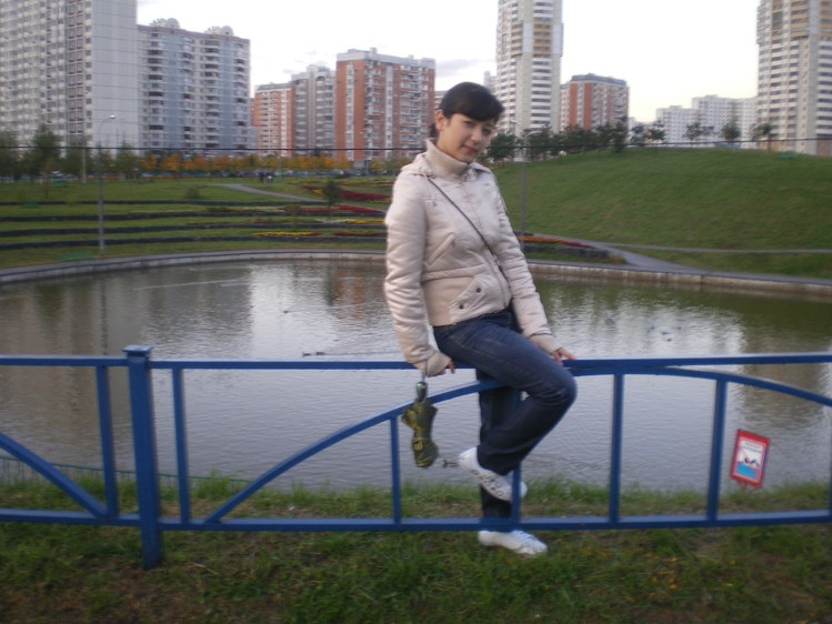 я и мое красивое платье)