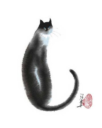 Кошка в китайской живописи