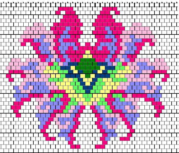 двойное мозаичное плетение