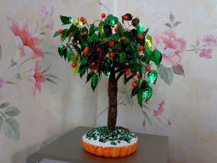 апельсиновое деревце.