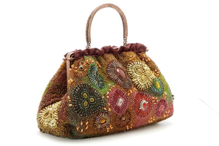 NITA TOTE Клатчи, сумочки из питона, вечерние сумки со стразами Clara...
