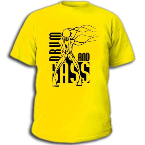 Drum`n`Bass (1) ... Заказывайте футболки и майки с клубной.