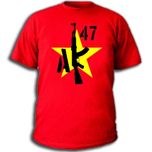 Купить футболку реал эмблема ак 47. .  Футболки майки прикольные с...