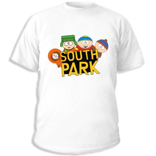 Закать футболку south park; Майки спанч боб; Где печать на футболках...