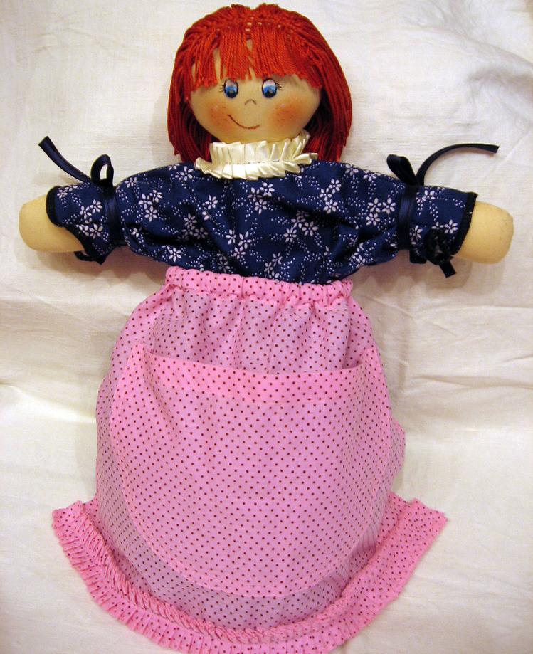 Re: Кукла для хранения пакетов.