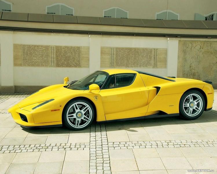 желтая машина